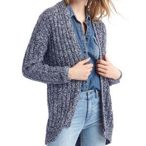 GAP Oversized Ribbed Cozy Knit Cardigan Sweater